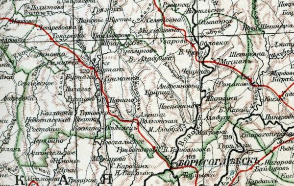 Борисоглебский уезд